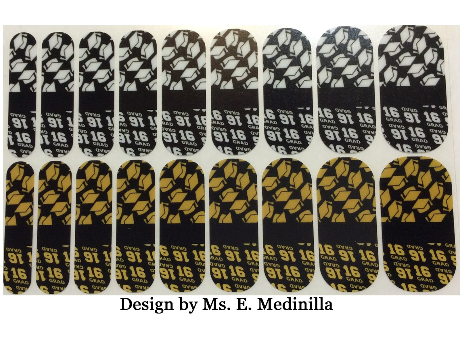 Mis 2 Manos: Made by My Hands: Class of 2016 Nail Wraps, Graduation ...