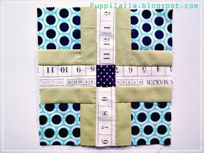 Quilting, Plus block, Puppilalla