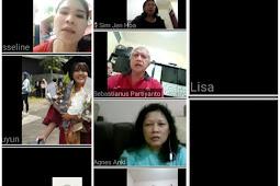 Doa Rosario Memperingati 100 Hari Meninggalnya Alm. FX Surijana dan 1 Tahun Meninggalnya Alm. Oma Ganap di Lngkungan Fransiskus Xaverius 3