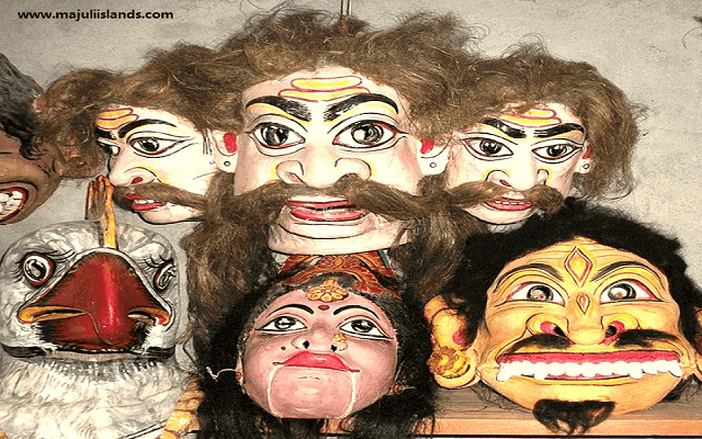Mask Culture Of Majuli Island
