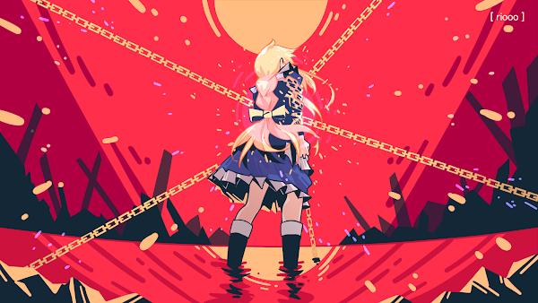 wallpaper anime sao alicization alice
