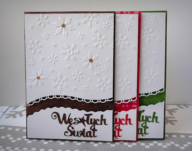 komplet kartek świątecznych