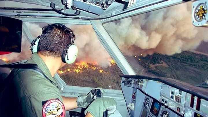 Φωτιά στην Εύβοια: Εκτιμήσεις για καταστροφή πάνω από 15.000 στρεμμάτων δάσους
