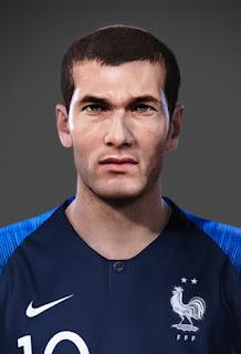 PES 2020 Faces Zinedine Zidane (1998) by WhoamI