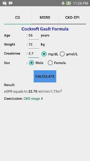 eGFR Calculators Pro Preview