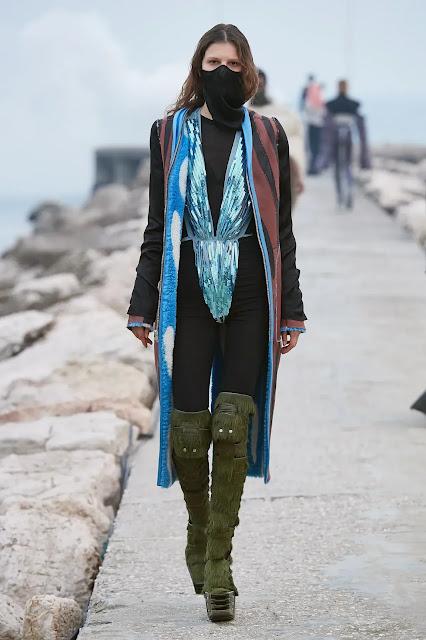 Rick Owens Fall 2021 in Lido Venice