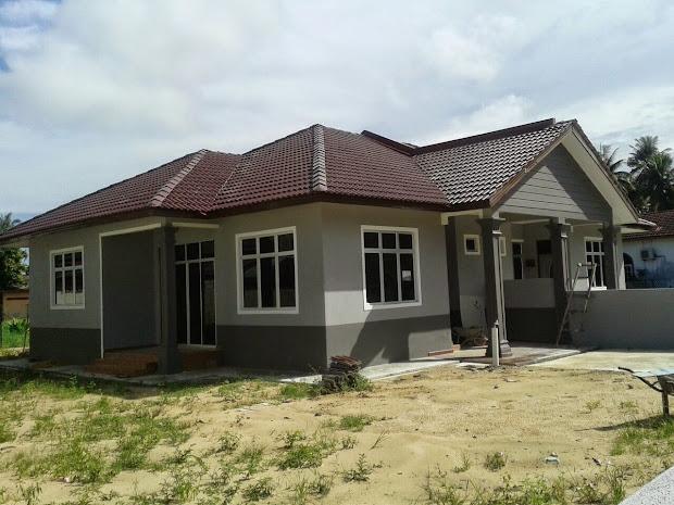 Rumah Banglo Mewah Setingkat