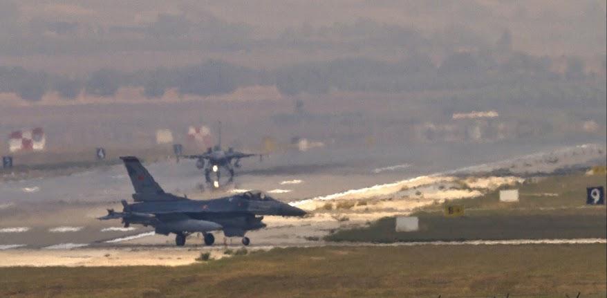 Τουρκία: Η πολεμική της αεροπορία μόλις και μετά βίας μπορεί να πετάξει τα F-16