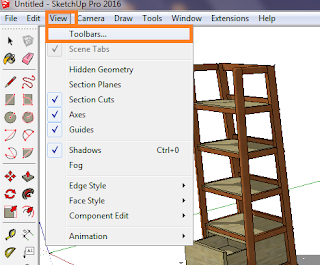 How to Create a Shadow Effect On Sketchup