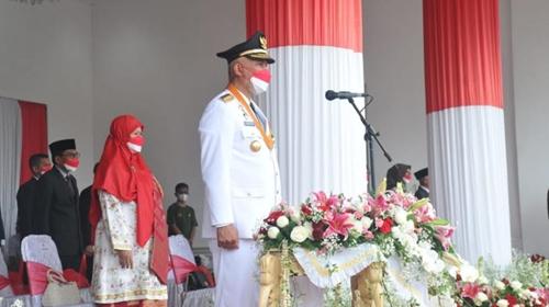 Gubernur: Jadikan Peringatan HUT Ke-76 RI sebagai Momentum Bersatu Melawan COVID-19