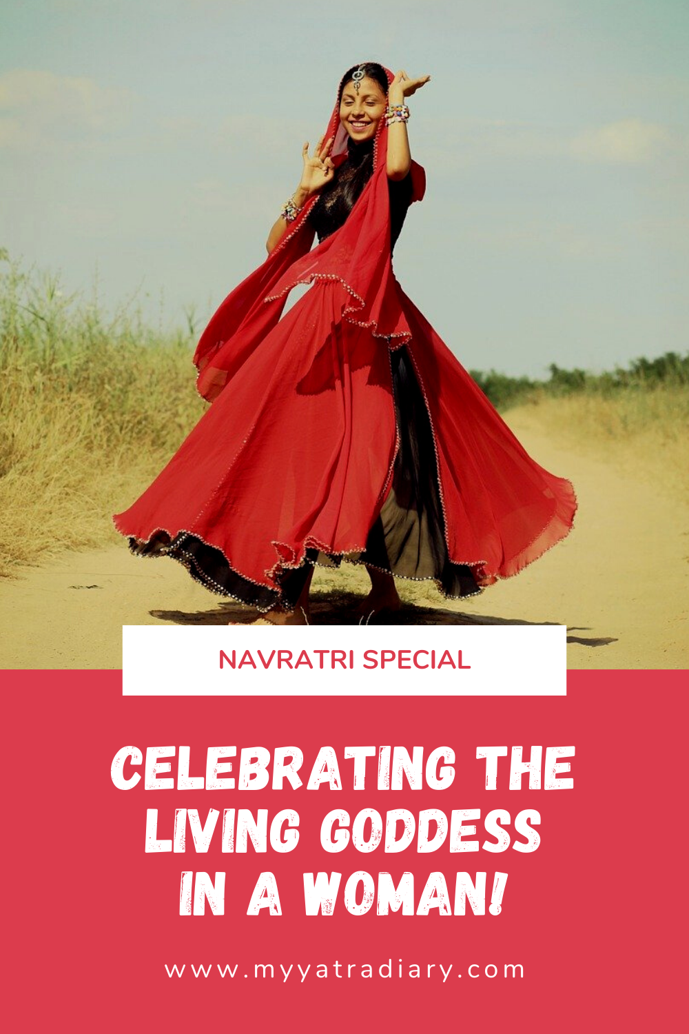 Celebrating the living goddess in a woman this Navratri festival