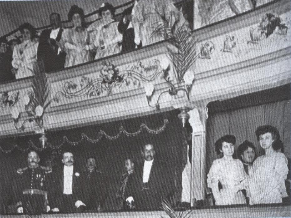 Palco Teatro Politeama (1908)