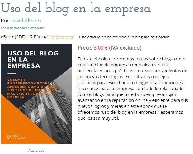 uso del blog en la empresa