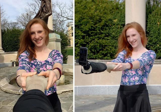 omorfos-kosmos.gr - Ένα Selfie Stick για να φαίνεται ότι έχεις παρέα...