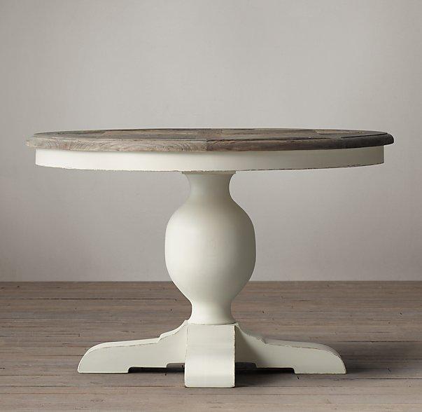 Sdivine Muebles singulares con encanto,: Mesa comedor redonda blanca ...