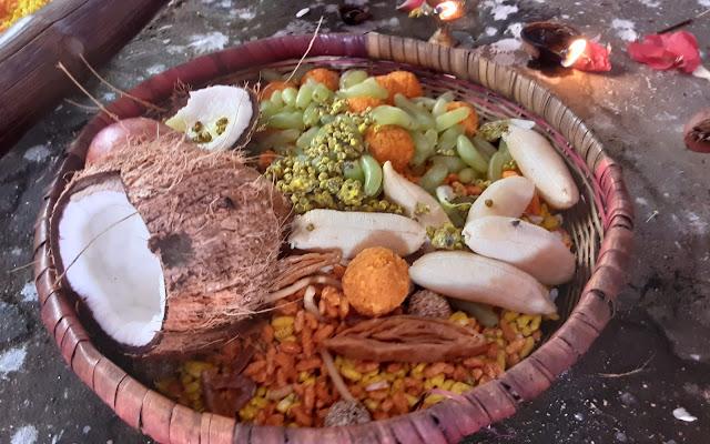 Bhuga / Prasadam for Dola Gopinath Puja