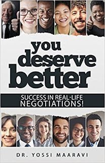 You Deserve Better: Success In Real-Life Negotiations by Yossi Maaravi #BookReview #BlogChatterA2Z #Books