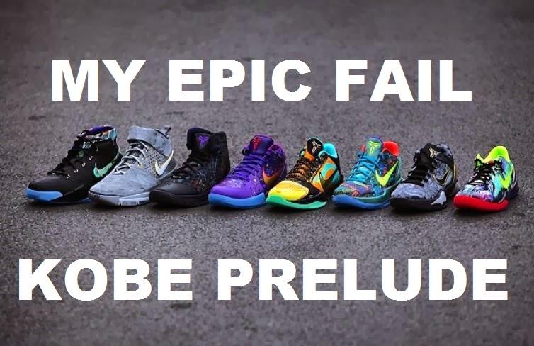 half off 62ae7 57dd7 Watch Dj Delz Hilarious Nike Kobe Prelude Pack FAIL Video