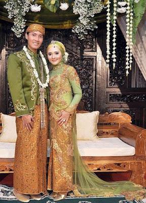 baju pengantin muslim