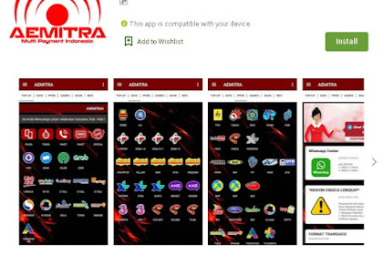 Update APK Aplikasi Android Aemitra Multi Payment Indonesia