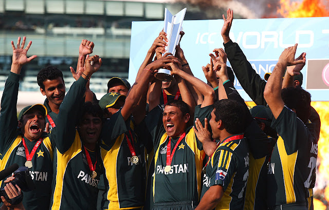 World T20 2009 Pakistan Trophy
