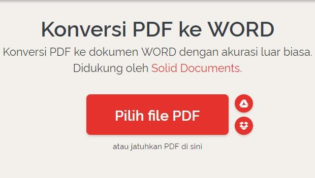 Cara Mengubah RPP PDF Dari Guru Berbagi ke Bentuk Word