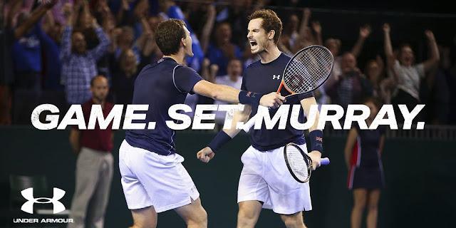 Murray le regala a Under Armour un año histórico