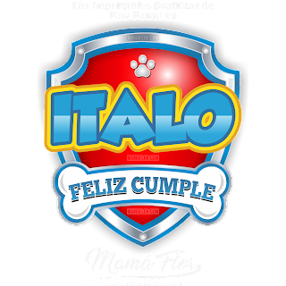 Logo de Paw Patrol: ÍTALO