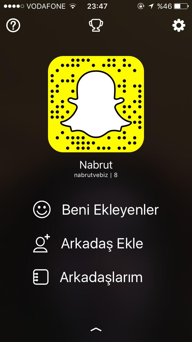 Snapchat Takip Etme