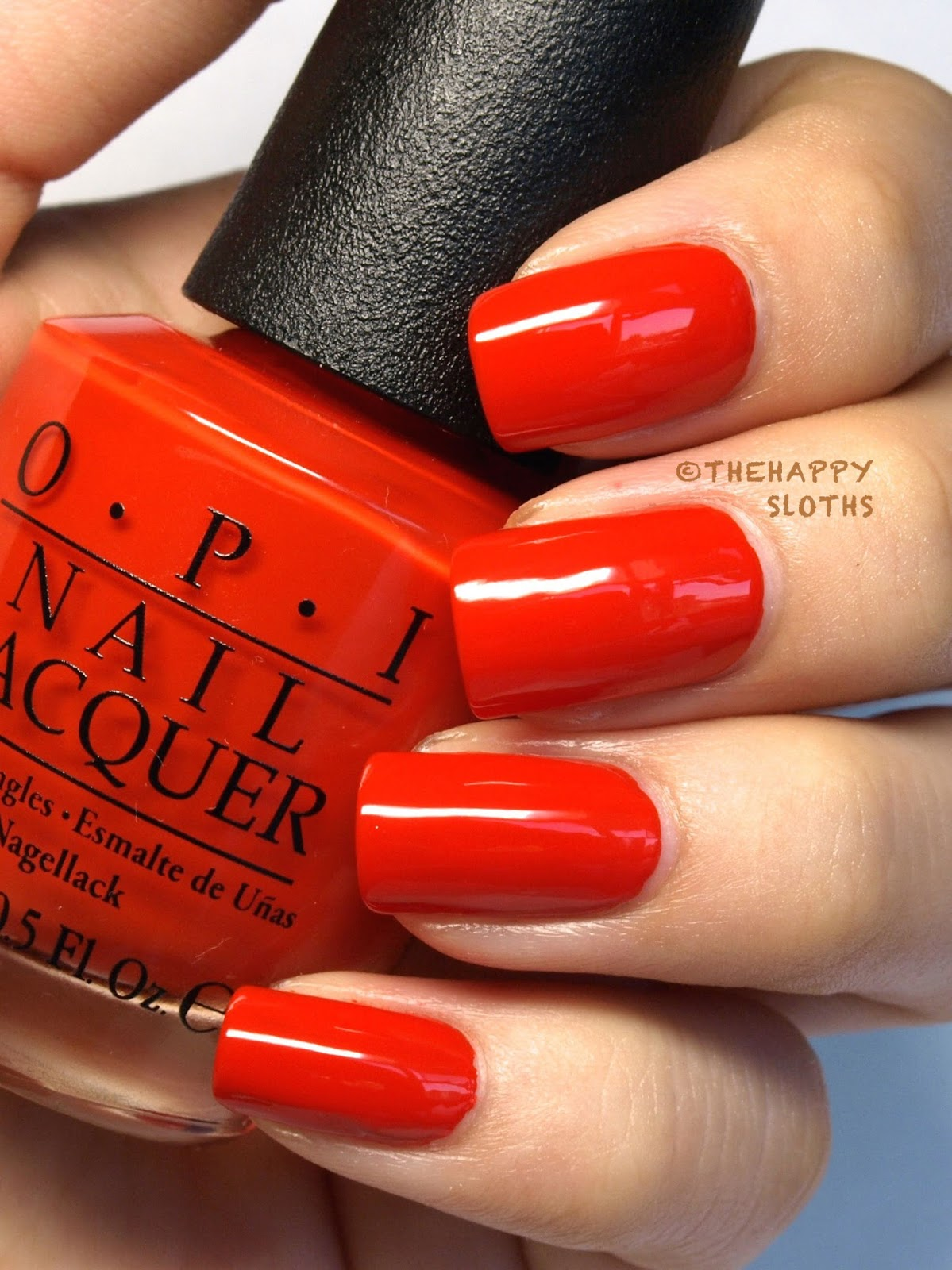 Ford Mustang By Opi Nail Polish Collection In Race Red