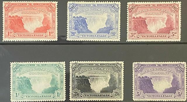 Rhodesia 1905 British South Africa Company Victoria Falls