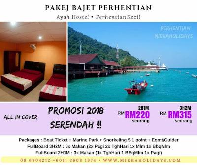 Pakej Bajet Pulau Perhentian Bajet Economy