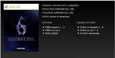 Resident Evil 6: multiplayer