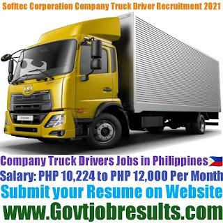 Sofitec Corporation Company Truck Driver Recruitment 2021-22