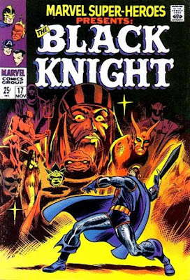 Marvel Super-Heroes #17, the Black Knight