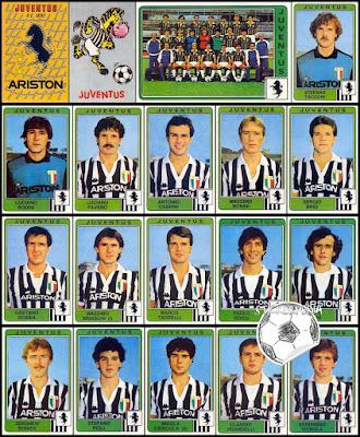 Calciatori Panini Juventus figurine 1984/85