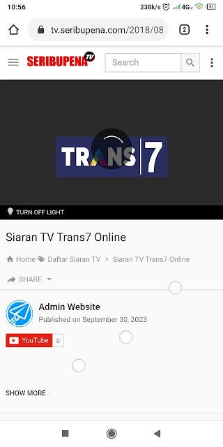 Nonton TV Online di Kantor dan Rumah dengan Siaran Lengkap