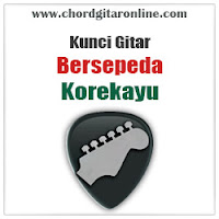 Chord Kunci Gitar Korekayu Bersepeda