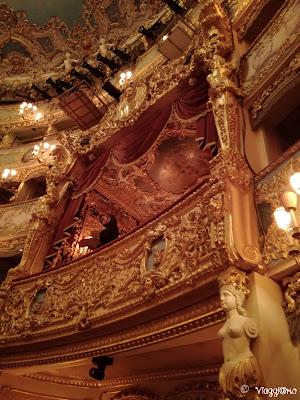 La loggia imperiale del teatro la Fenice