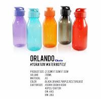 Barang Promosi Orlando Hydration Water Bottle, Botol Promosi Orlando Hydration Water Tumbler, Jual Botol air Minum plastic, botol plastik unik, botol minum BPA free, botol minum cetak logo dengan harga terjangkau