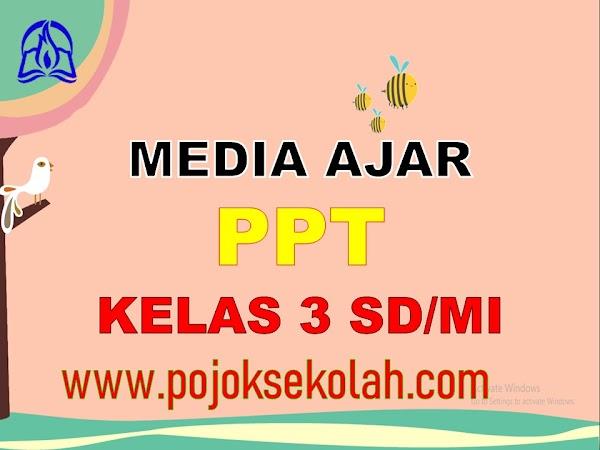 Media Pembelajaran Power Point (PPT) Kelas 3 SD/MI Kurikulum 2013