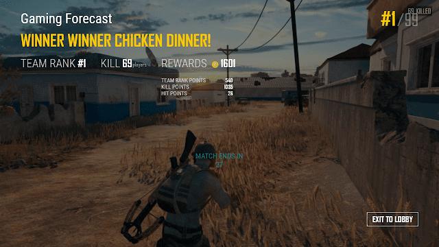 chicken dinner generator
