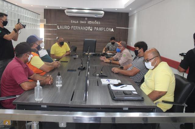 Reunião entre legislativo e executivo discute implantação de estação de monitoramento sísmico em Caraúbas