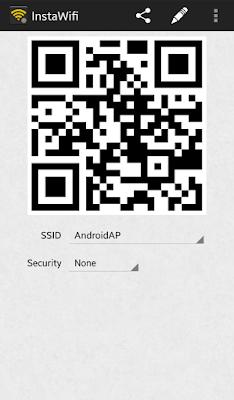 Cara Menampilkan Barcode Wifi di HP Samsung