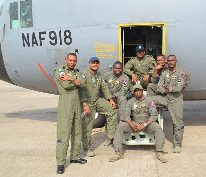 Photos: Nigerian Air Force, NAF Special Forces Arrive ...   693 x 595 jpeg 311kB