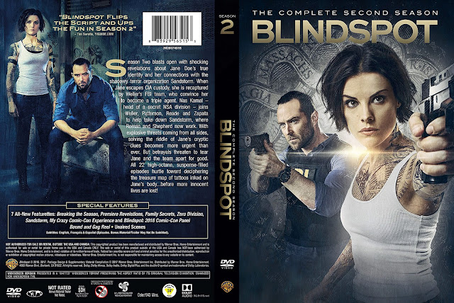 Blindspot Season 2 DVD Cover