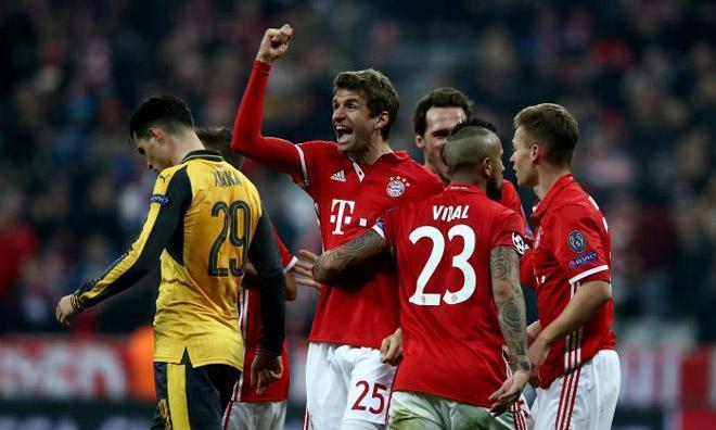 """Bayern đại thắng Chelsea: 27 bàn/6 trận, xứng danh """"Hung thần"""" thành London 2"""
