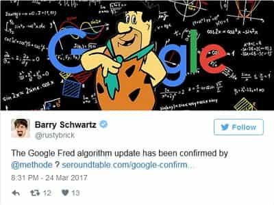The Fred Algorithm Update Has Now Confirmed by Google