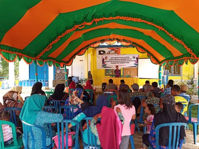 pemerintah desa marga mukti lakukan pelatihan pemberdayaan masyarakat