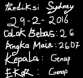 colokbebastop.blogspot.com-PREDIKSI COLOK BEBAS TOP SYDNEY,SINGAPORE,HONGKONG 29 FEBRUARY 2016